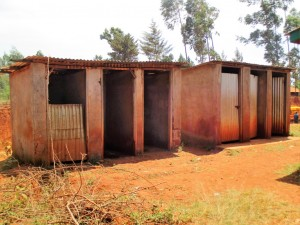 The Water Project : 9-kenya4630-latrines