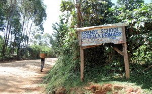 The Water Project : 1-kenya4636-school-entrance