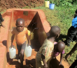 The Water Project : 10-kenya4642-boys-fetch-water-after-school