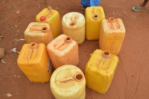 The Water Project : 11-kenya4499-water-containers