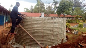 The Water Project : 11-kenya4626-tank-construction