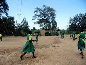 The Water Project : 11-kenya4638-girls-rushing-to-latrines
