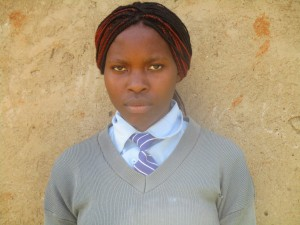 The Water Project : 11-kenya4643-student-lucy-mutambe