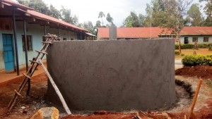 The Water Project : 12-kenya4626-tank-construction
