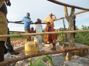 The Water Project : 12-uganda6073-water-flowing