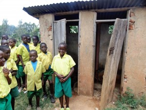 The Water Project : 14-kenya4638-boys-latrines