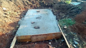 The Water Project : 15-kenya4626-latrine-construction