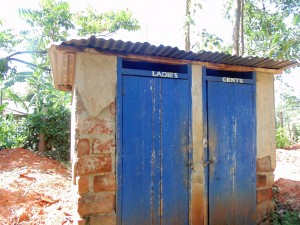 The Water Project : 15-kenya4636-staff-latrines