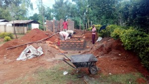 The Water Project : 16-kenya4626-latrine-construction