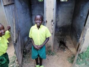 The Water Project : 16-kenya4638-boys-latrines
