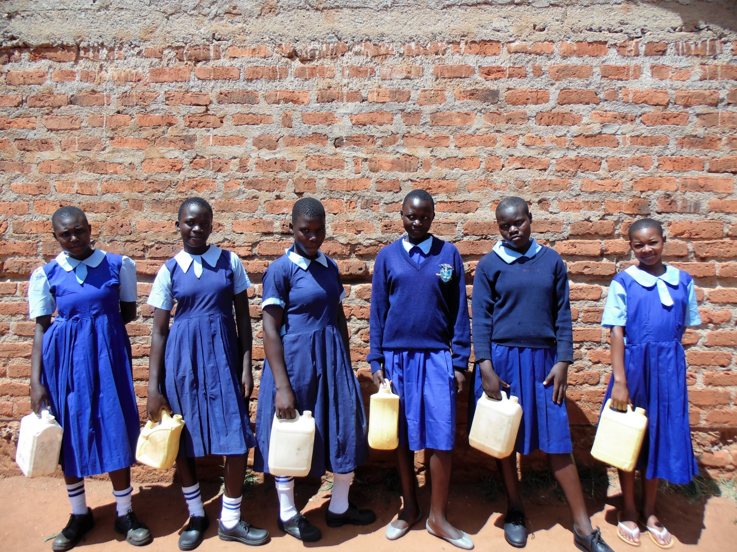 The Water Project : 18-kenya4636-girls-who-fetch-water