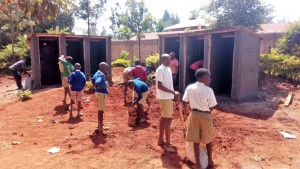 The Water Project : 19-kenya4626-latrine-construction