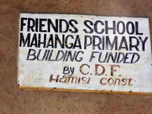 The Water Project : 2-kenya4638-school-sign
