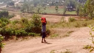 The Water Project : 2-kenya4705-carrying-water