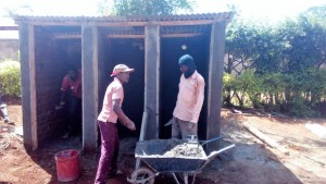 The Water Project : 20-kenya4626-latrine-construction