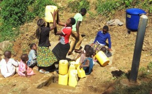 The Water Project : 25-kenya4590-protected-spring