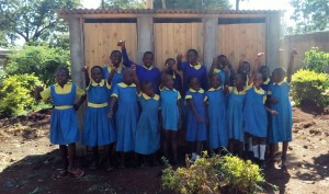 The Water Project : 25-kenya4626-finished-latrines