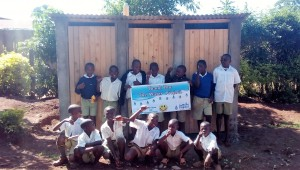 The Water Project : 26-kenya4626-finished-latrines
