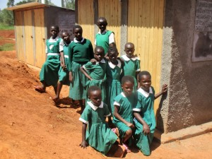 The Water Project : 26-kenya4630-finished-latrines