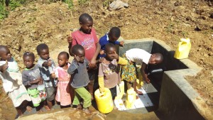 The Water Project : 27-kenya4590-protected-spring