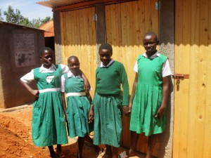 The Water Project : 27-kenya4630-finished-latrines