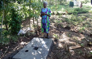 The Water Project : 28-kenya4589-sanitaiton-platform