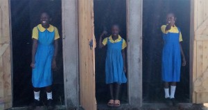 The Water Project : 28-kenya4626-finished-latrines