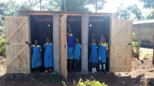 The Water Project : 29-kenya4626-finished-latrines