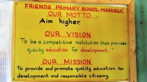 The Water Project : 3-kenya4638-school-motto