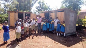 The Water Project : 30-kenya4626-finished-latrines