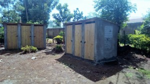 The Water Project : 31-kenya4626-finished-latrines