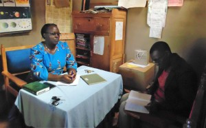 The Water Project : 4-kenya4636-meeting-with-headteacher