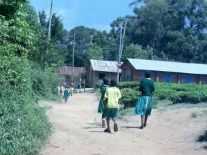 The Water Project : 4-kenya4638-walking-to-school