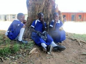 The Water Project : 4-kenya4642-eating-mandazi-on-break