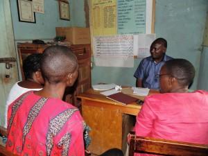 The Water Project : 5-kenya4638-meeting-the-headteacher