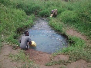The Water Project : 5-uganda6078-surface-water