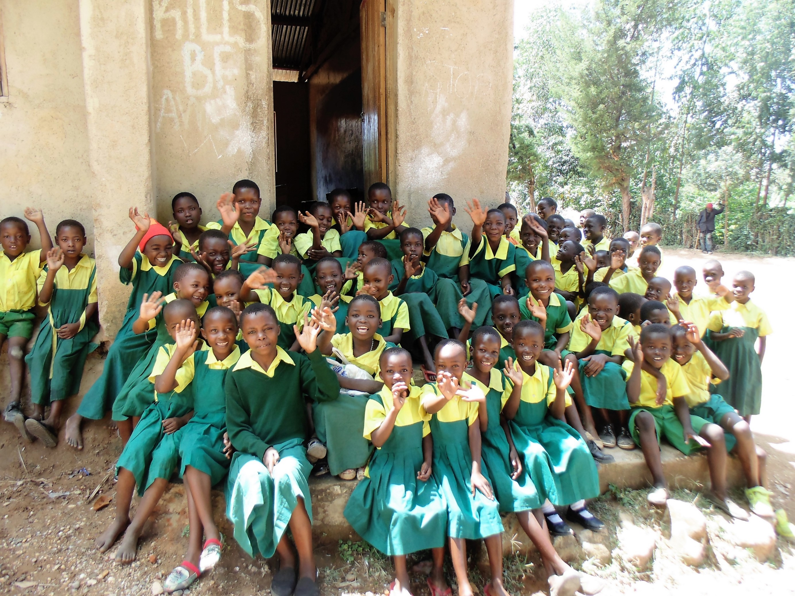 The Water Project : 6-kenya4638-students
