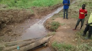 The Water Project : 6-uganda6076-unprotected-spring
