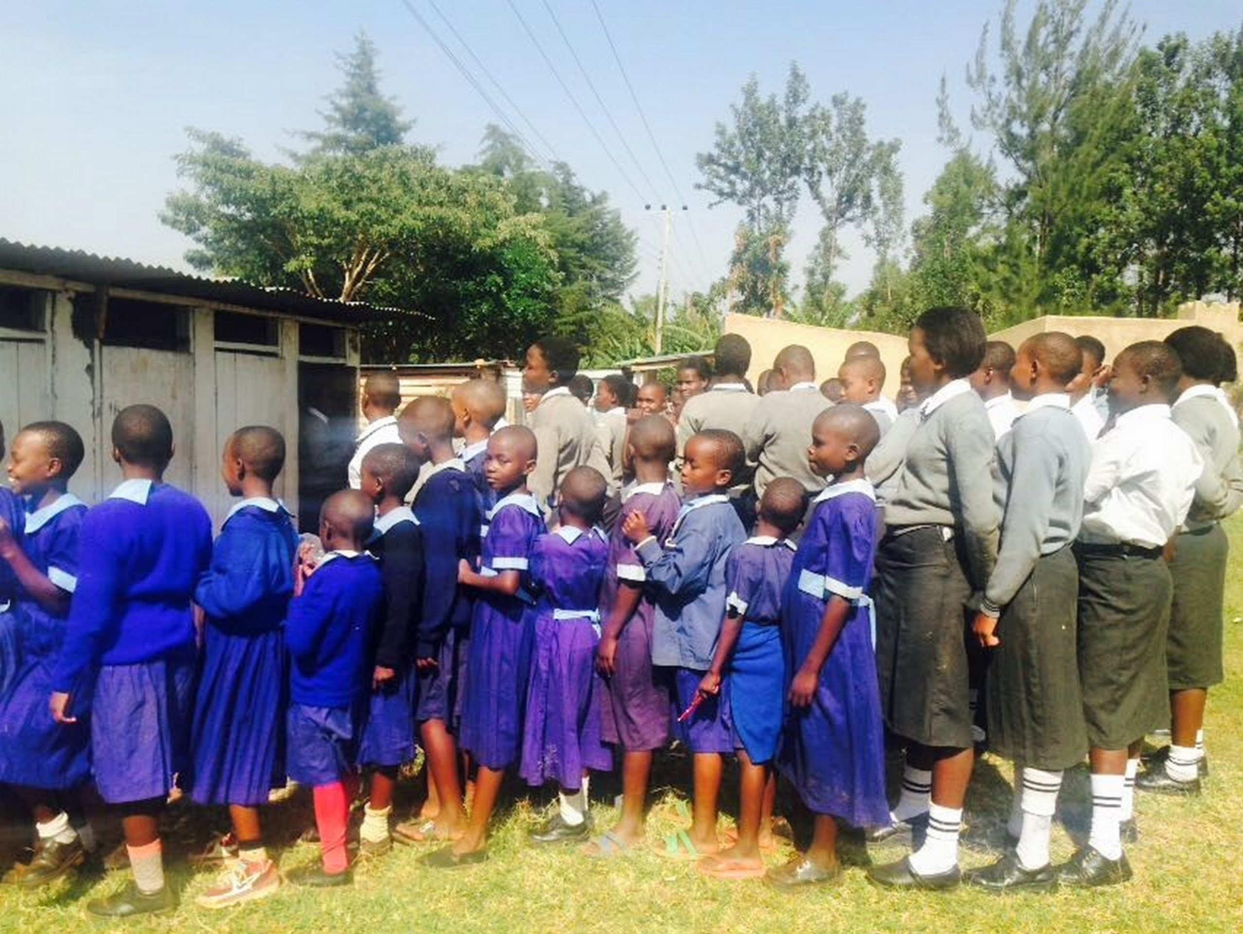 The Water Project : 7-kenya4640-latrine-lines