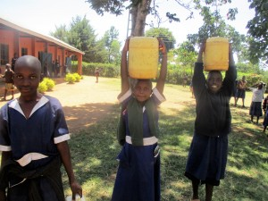 The Water Project : 7-kenya4642-students-sent-to-fetch-water
