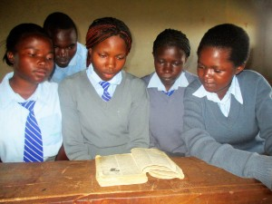 The Water Project : 7-kenya4643-students