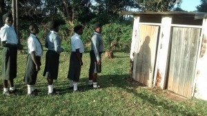 The Water Project : 8-kenya4640-latrine-lines