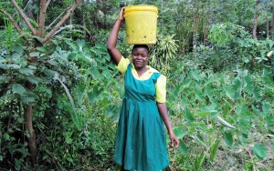The Water Project : 9-kenya4638-fetching-water