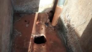 The Water Project : 9-kenya4640-inside-a-latrine