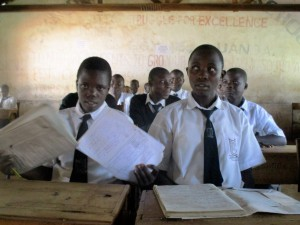 The Water Project : 1-kenya4633-students