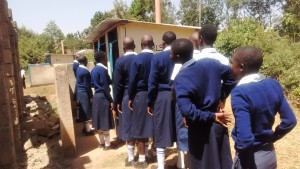 The Water Project : 10-kenya4637-girls-latrines