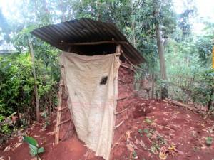 The Water Project : 10-kenya4702-newly-built-latrine