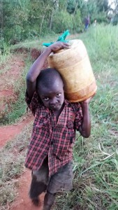 The Water Project : 10-kenya4703-carrying-water