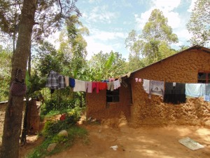 The Water Project : 11-kenya4701-clothesline