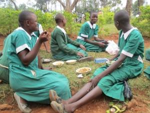 The Water Project : 12-kenya4632-lunch-break